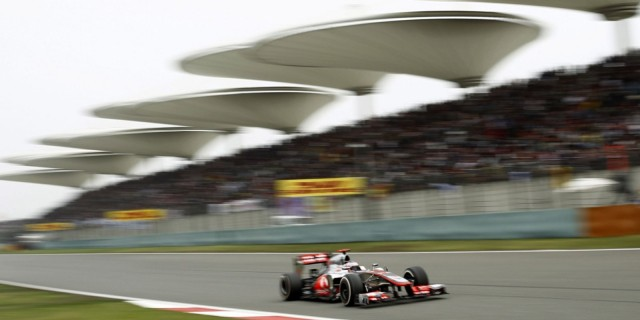 McLaren at the 2013 Formula One Chinese Grand Prix