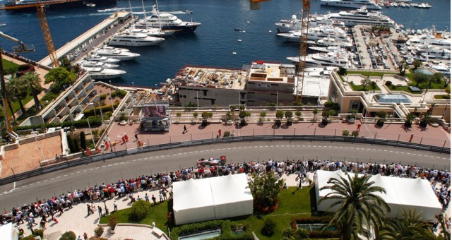 McLaren at the 2013 Formula One Monaco Grand Prix