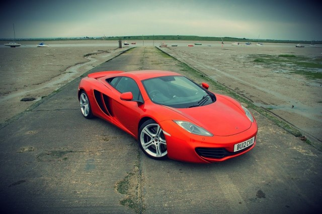McLaren MP4-12C - image courtesy of Tim Oldland