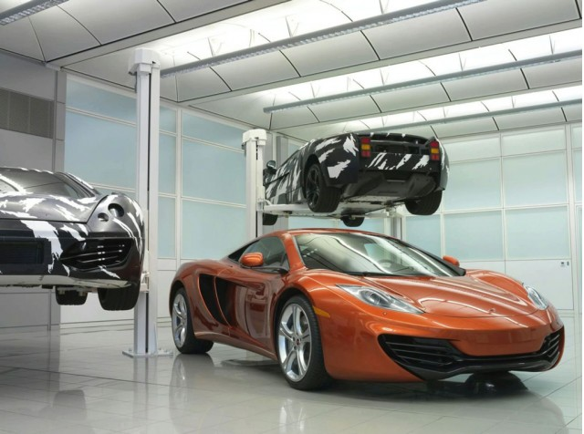 McLaren MP4-12C supercar