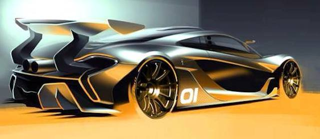 McLaren P1 GTR rendering. Image via Dimmitt Automotive/DuPont Registry.