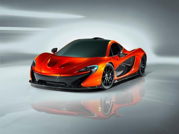 McLaren P1 supercar, first images