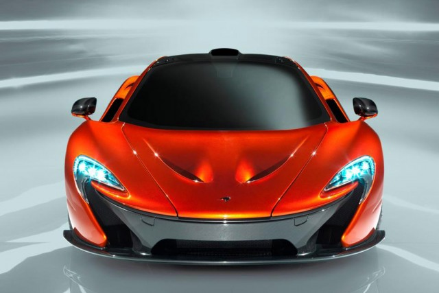 McLaren P1 supercar, leaked images