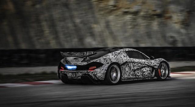 McLaren tests its P1 supercar - image: McLaren