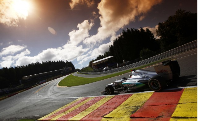 Mercedes-AMG at the 2012 Formula 1 Belgian Grand Prix