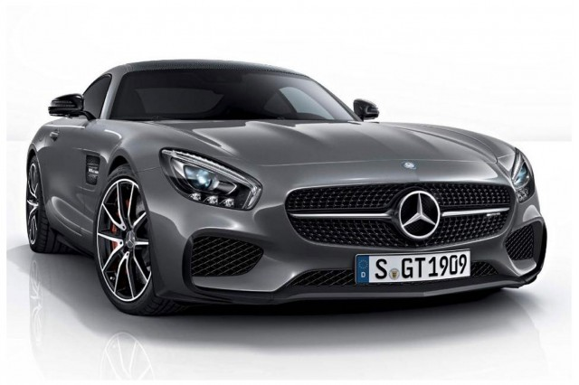 Mercedes-AMG GT Edition 1 leaked images
