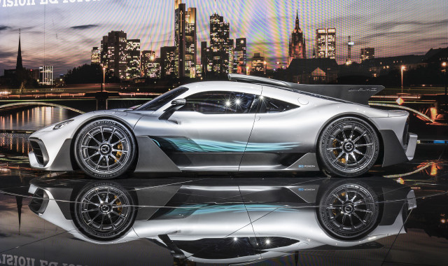 Mercedes-AMG Project One concept, 2017 Frankfurt Motor Show