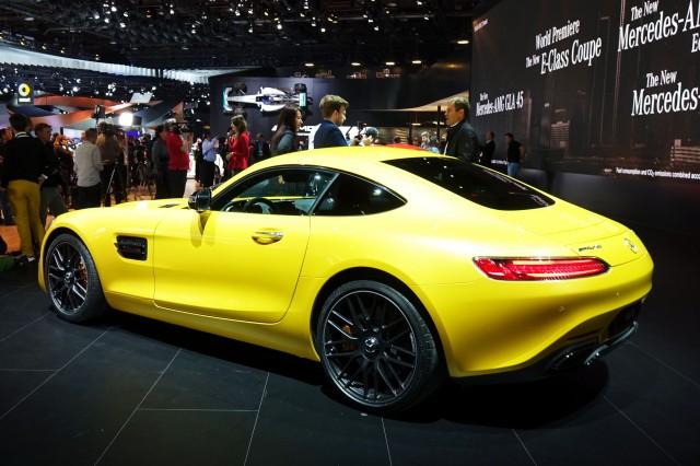 2018 Mercedes-AMG GT S, 2017 Detroit auto show