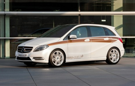 Mercedes-Benz B-Class E-Cell Plus Concept