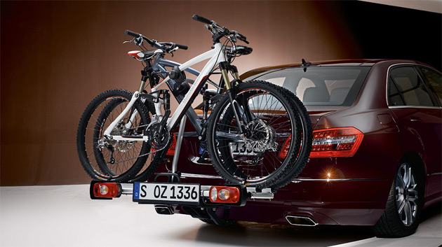 All Mercedes Benz bikes feature carbon-fiber components and disc brakes