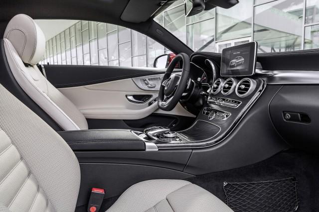 2017 MercedesBenz CClass Coupe 2015 Frankfurt Auto Show Preview