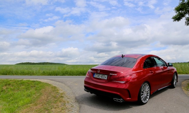 2014 Mercedes-Benz CLA 45 AMG, First Drive, Bilster Berg