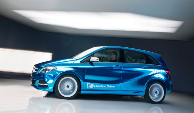 Mercedes-Benz Concept B Class Electric Drive, 2012 Paris Auto Show