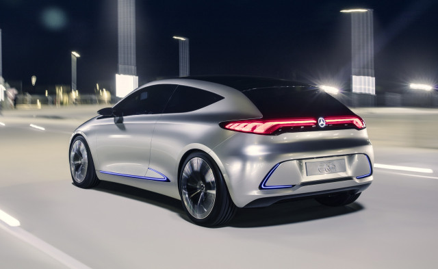 Mercedes-Benz announces an electric future from 2022