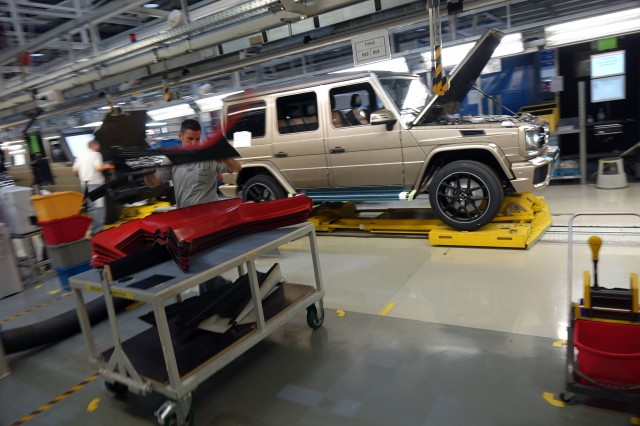 2017 Mercedes-Benz G-Class at Schoeckl Mountain, Austria