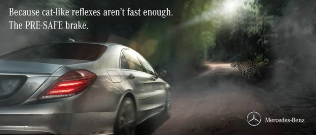Mercedes-Benz hits back at Jaguar's 'cat-like reflexes' advert