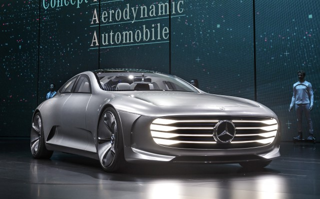 Mercedes benz intelligent aerodynamic automobile concept for Mercedes benz frankfurt