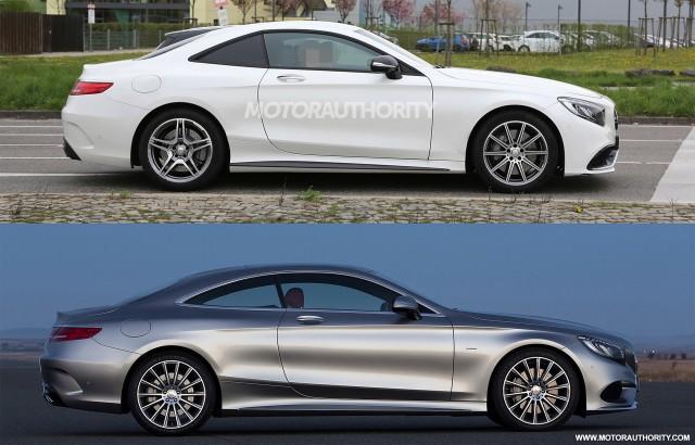 Mercedes out testing platform for next sl amg gt for Mercedes benz sports sedan