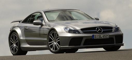 Mercedes-Benz reveals the new SL65 AMG Black Series