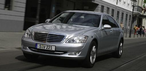 Mercedes Benz S600 Guard hits the roads