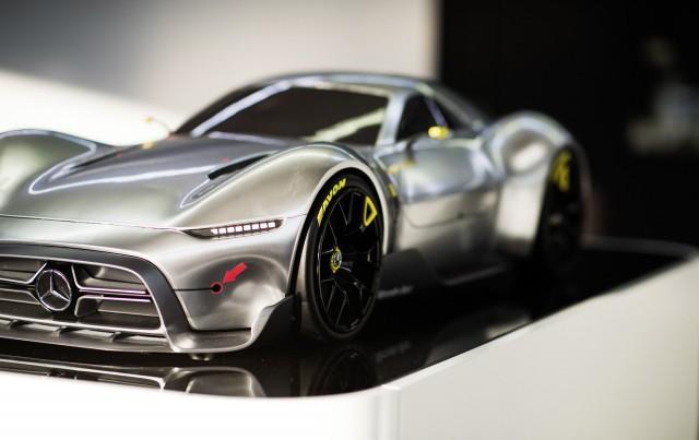 Mercedes Benz Sports Car Design Study, 2017 Design Essentials Workshop