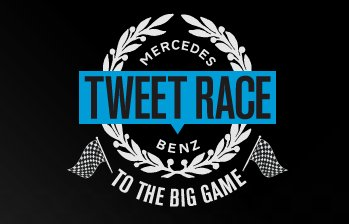 Mercedes-Benz Tweet Race to the Big Game