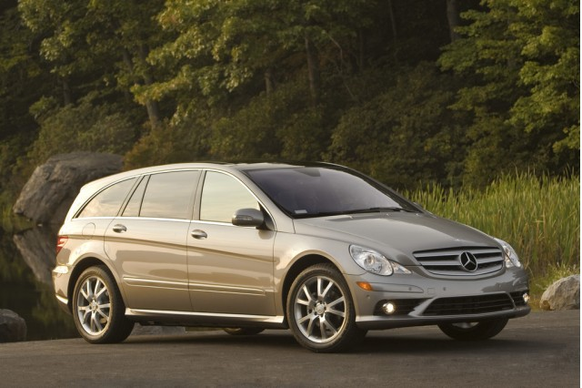New and used mercedes benz r class prices photos for Mercedes benz r350 price