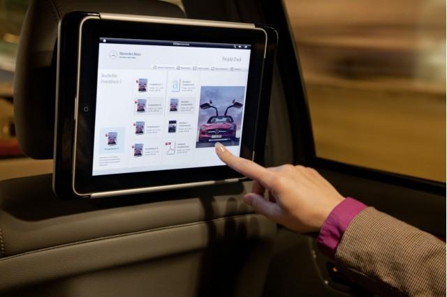 Mercedes-Benz Apple iPad integration