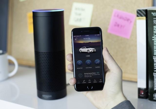 Mercedes-Benz adds Amazon Alexa support