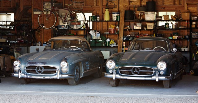 Pair of Mercedes-Benz 300SLs