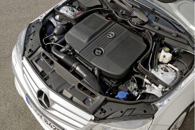 Mercedes BlueEfficiency four-cylinder diesel