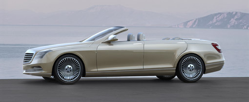 Mercedes Unveils Four Door Convertible