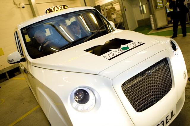 Metrocab range-extended London taxi unveiled by mayor Boris Johnson