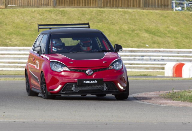 MG MG3 Trophy Concept