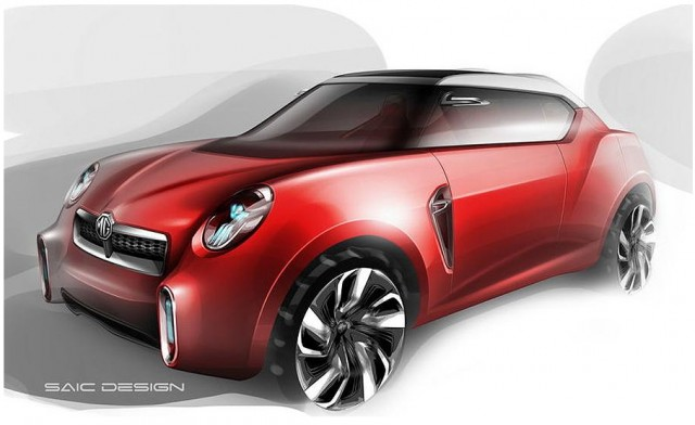 MG's Icon crossover concept.
