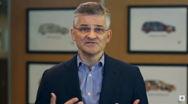 Michael Horn, CEO of Volkswagen Group of America, in 'Dieselgate' video