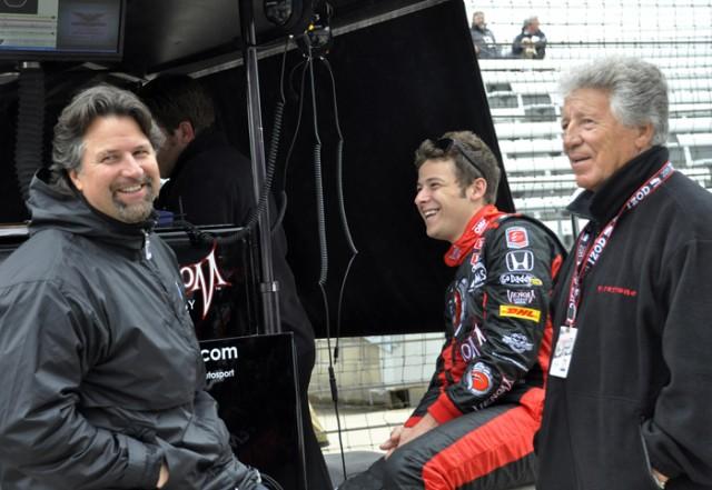 Marco Andretti: Celebrity Apprentice? - YouTube