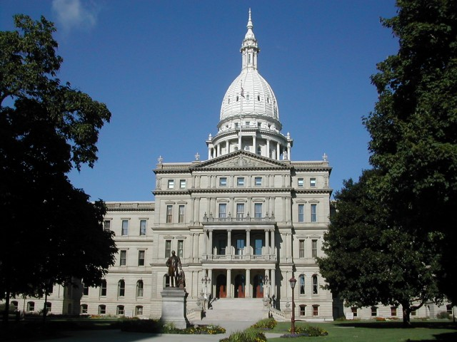 Michigan state capitol, Lansing (photo by Brian Charles Watson)