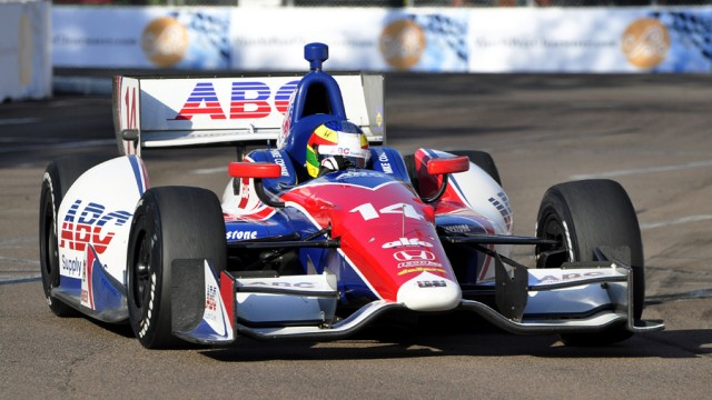 Mike Conway at St Petersburg - Anne Proffit photo