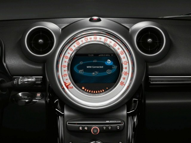 MINI Connected interface