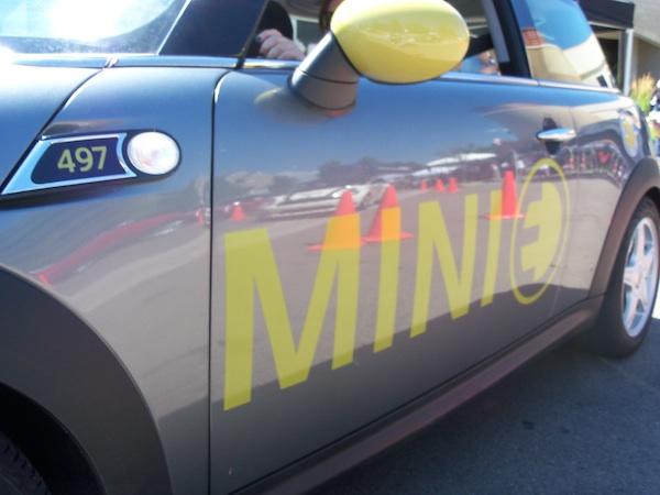 MINI E at MTTS 2010 in Denver, Colo.