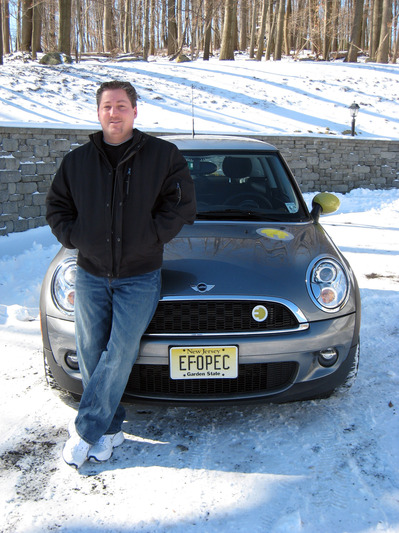 Winter driving in the Mini E