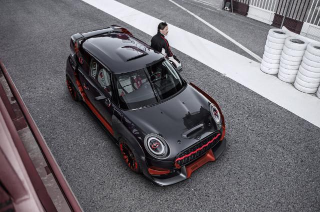 Hardcore Mini John Cooper Works GP Concept races into Frankfurt 2017