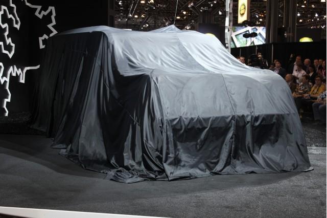 MINI Press Conference, 2010 New York Auto Show