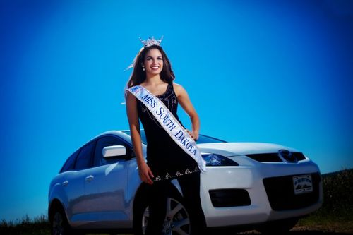 Miss South Dakota  -  distracted driving awareness