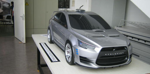 Mitsubishi Evo X Rally Concept