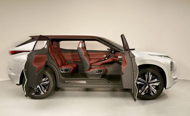 Model Mitsubishi GTPHEV Concept Previews Nextgen Hybrid Tech