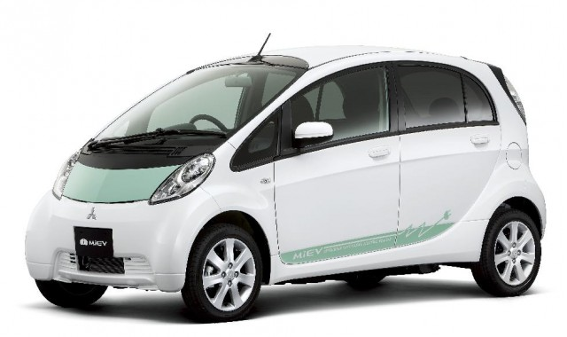 Mitsubishi i-MiEV electric car