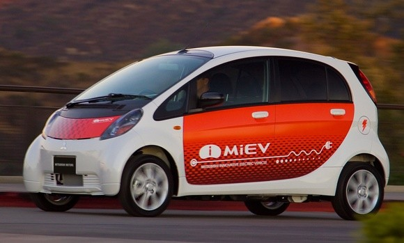 Mitsubishi i-MiEV: Coming To An Electrical Outlet Near You...Eventually