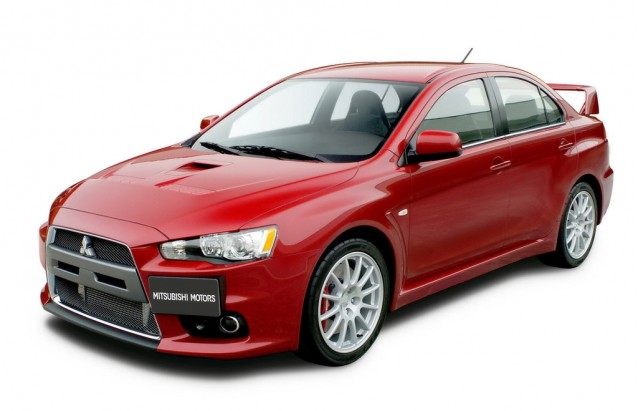mitsubishi lancer evolution x - Mitsubishi Evolution 11